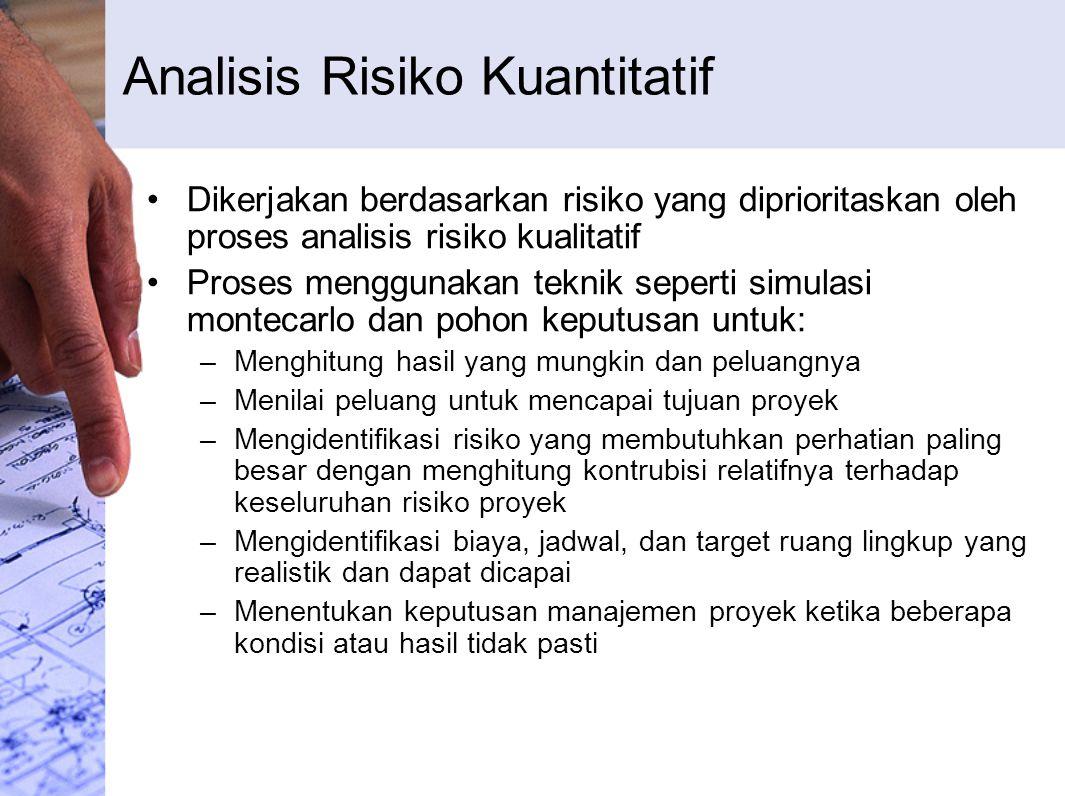 Analisis Risiko Kuantitatif