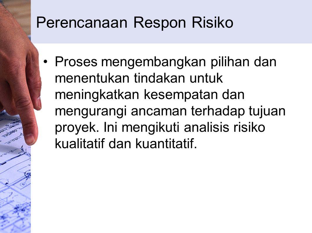 Perencanaan Respon Risiko