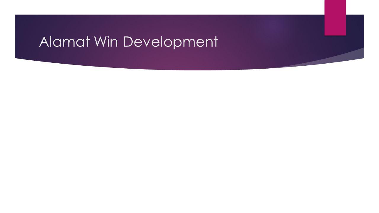 Alamat Win Development