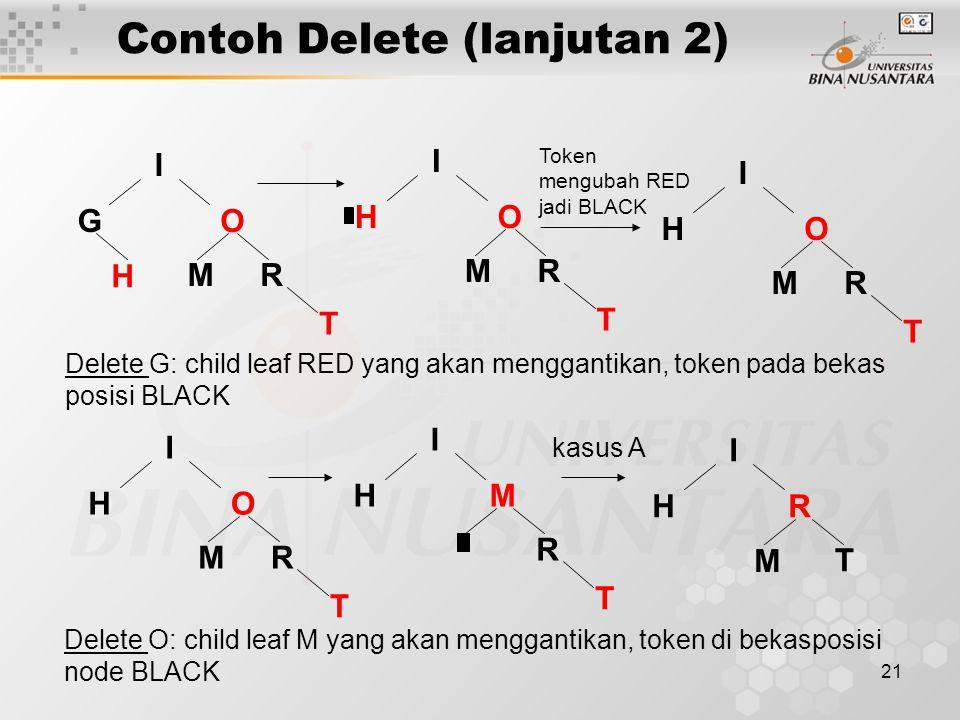 Contoh Delete (lanjutan 2)