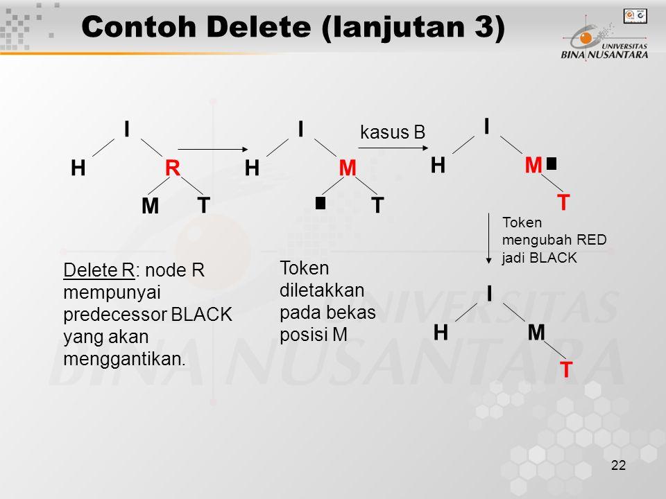 Contoh Delete (lanjutan 3)