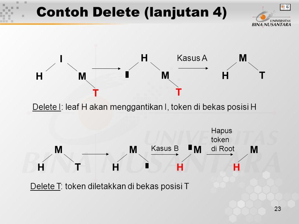 Contoh Delete (lanjutan 4)