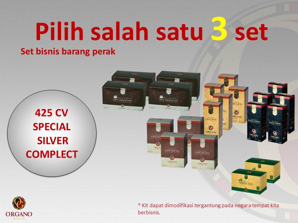 Pilih salah satu 3 set 425 CV SPECIAL SILVER COMPLECT