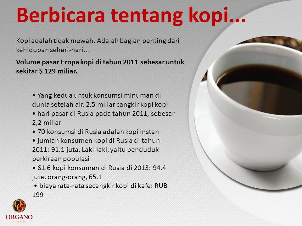 Berbicara tentang kopi...