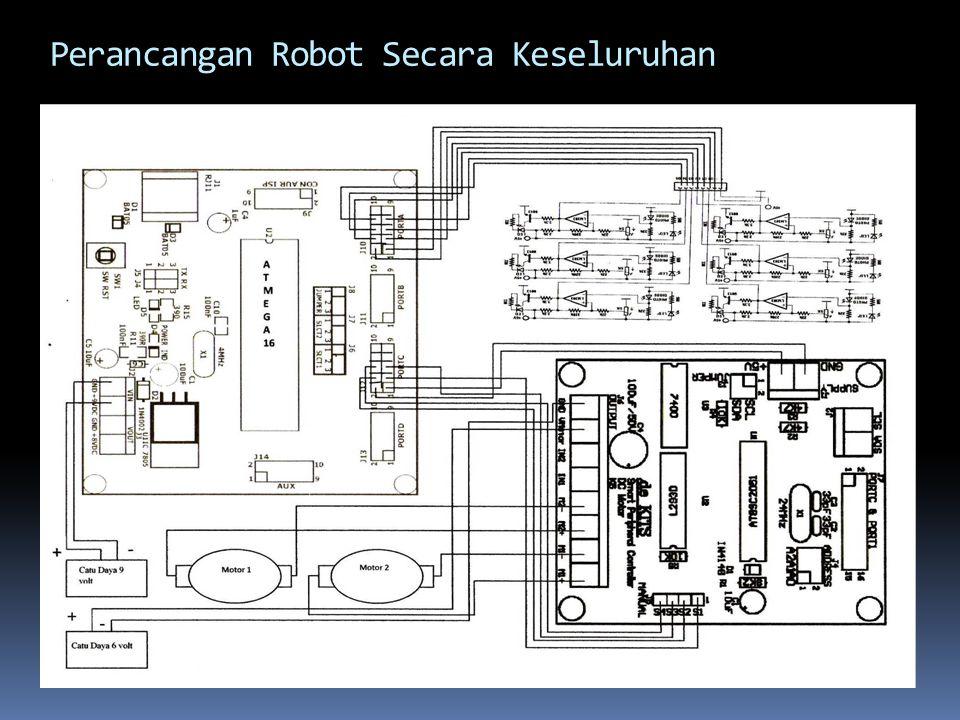 Perancangan Robot Secara Keseluruhan