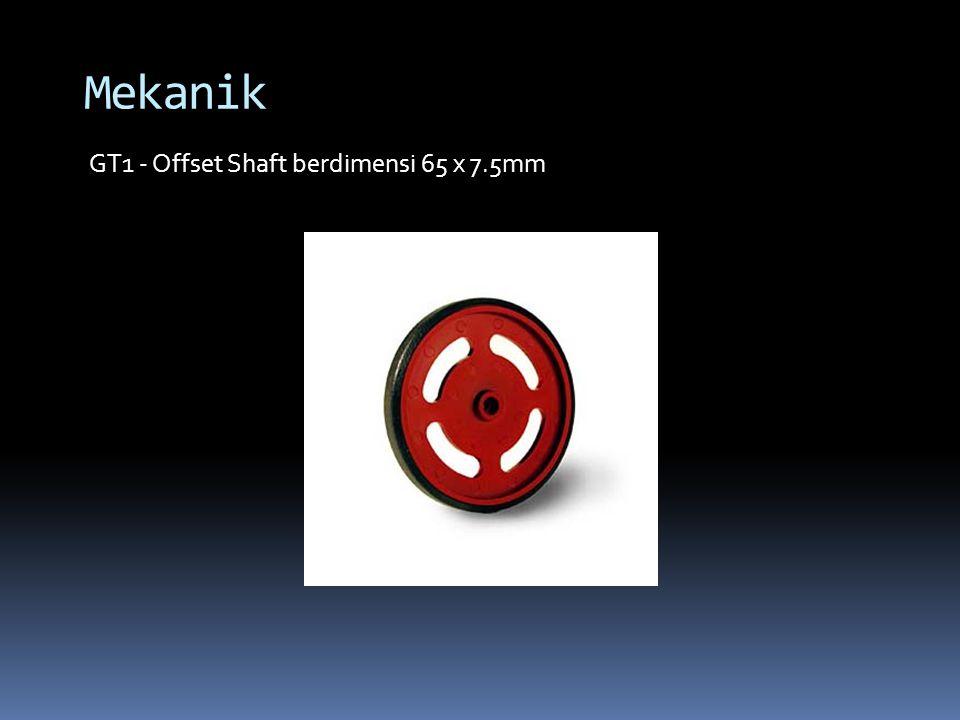 Mekanik GT1 - Offset Shaft berdimensi 65 x 7.5mm