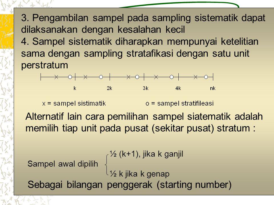 Sebagai bilangan penggerak (starting number)