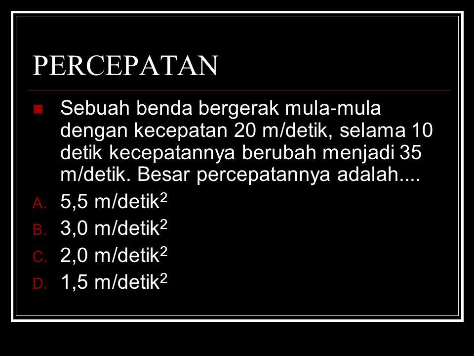 PERCEPATAN