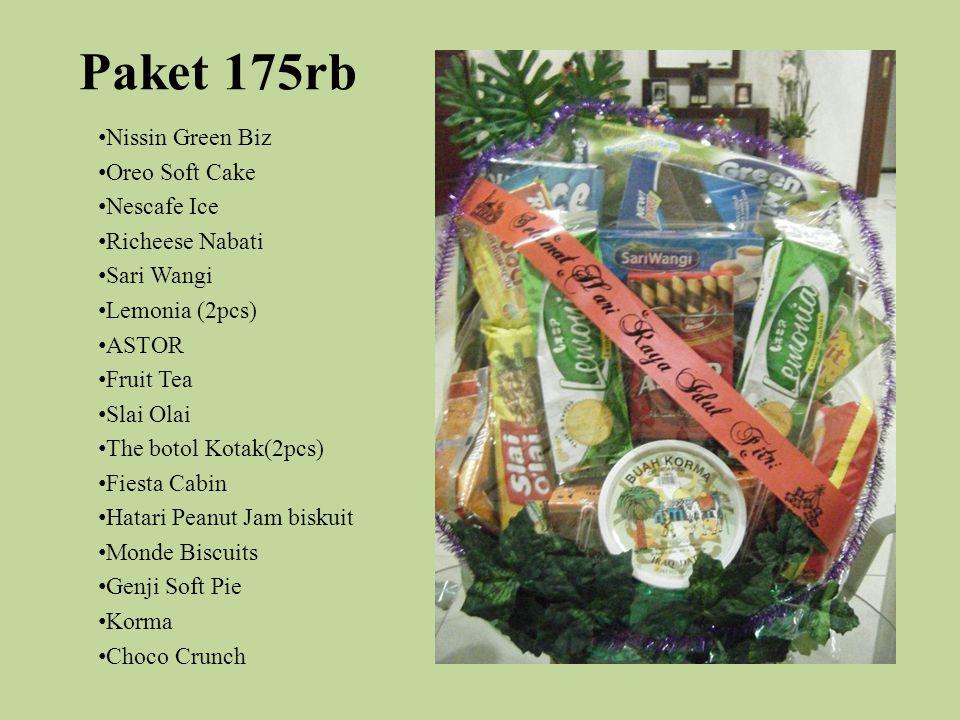 Paket 175rb Nissin Green Biz Oreo Soft Cake Nescafe Ice
