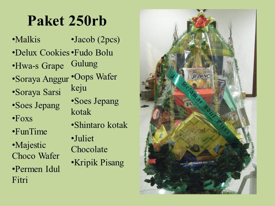 Paket 250rb Malkis Jacob (2pcs) Delux Cookies Fudo Bolu Gulung
