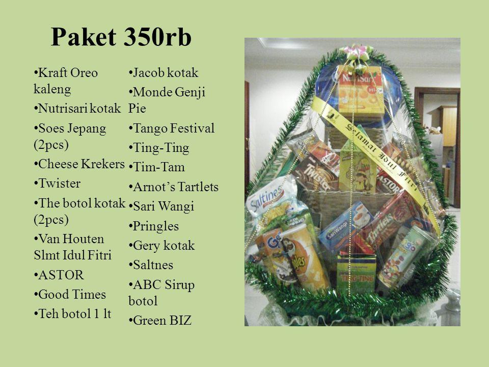 Paket 350rb Kraft Oreo kaleng Jacob kotak Monde Genji Pie