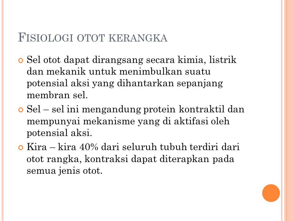 Fisiologi otot kerangka