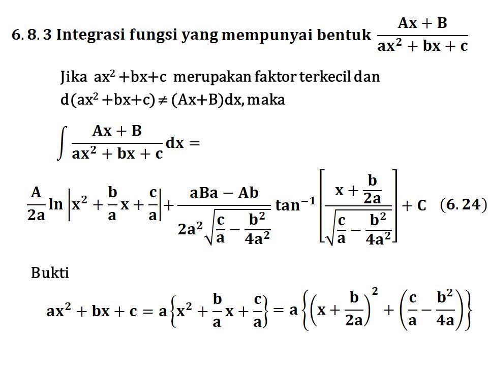 Jika ax2 +bx+c merupakan faktor terkecil dan