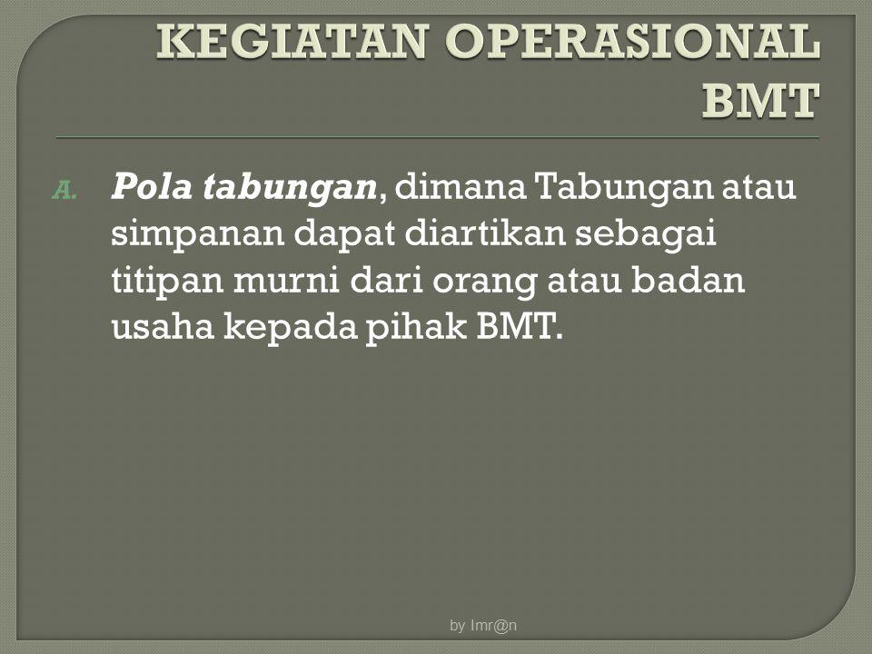 KEGIATAN OPERASIONAL BMT