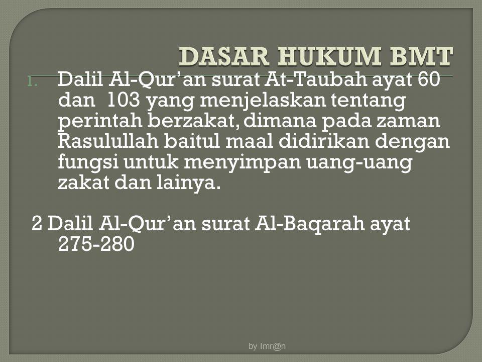 by Imr@n DASAR HUKUM BMT.