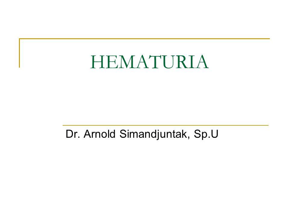 Dr. Arnold Simandjuntak, Sp.U