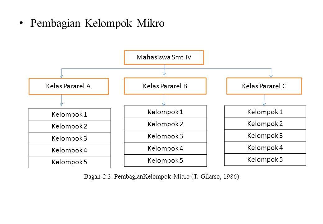 Bagan 2.3. PembagianKelompok Micro (T. Gilarso, 1986)