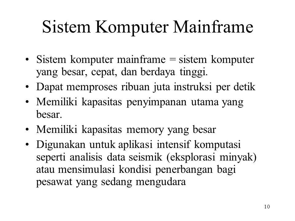 Sistem Komputer Mainframe
