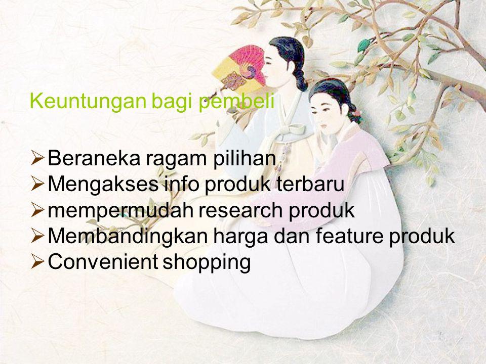 Keuntungan bagi pembeli