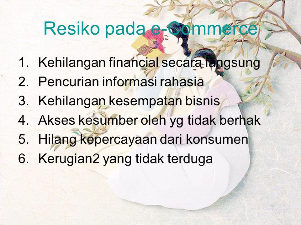 Resiko pada e-Commerce