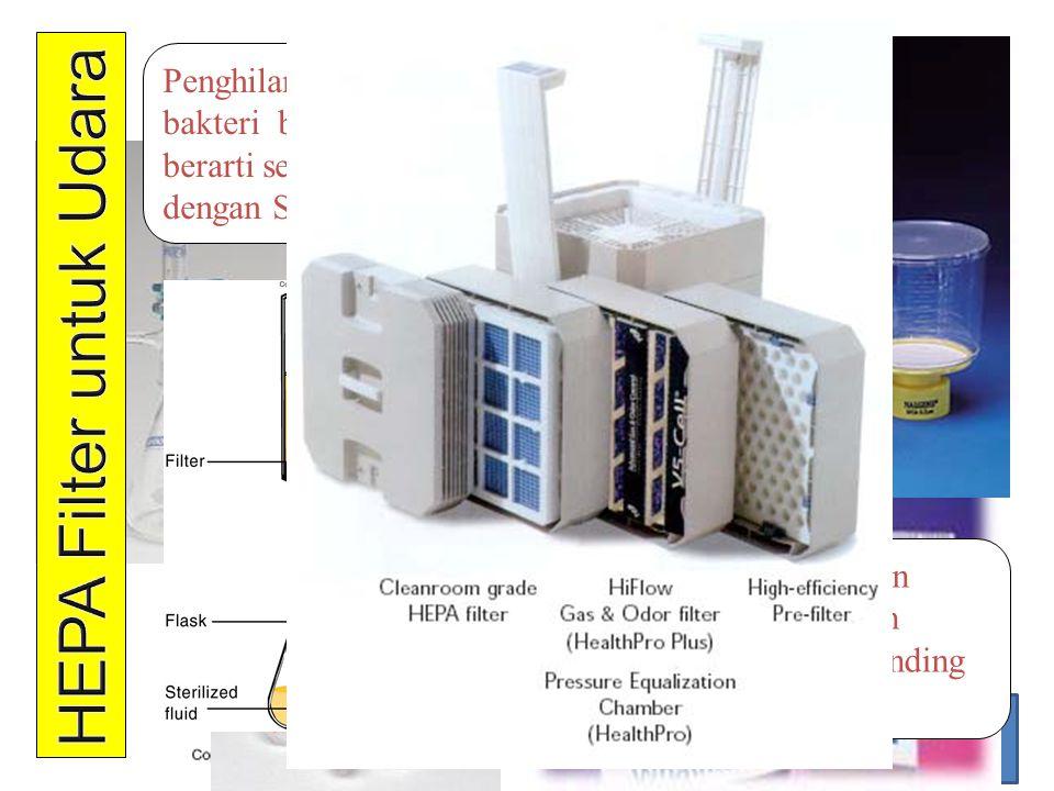HEPA Filter untuk Udara