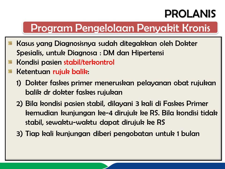 Program Pengelolaan Penyakit Kronis