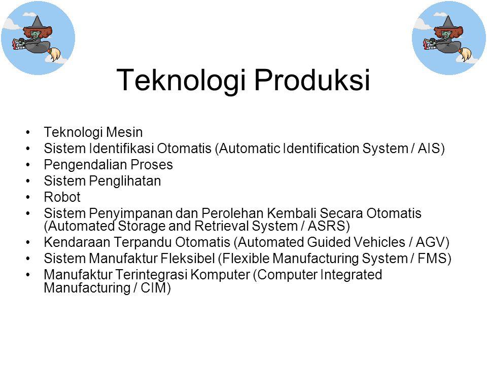 Teknologi Produksi Teknologi Mesin