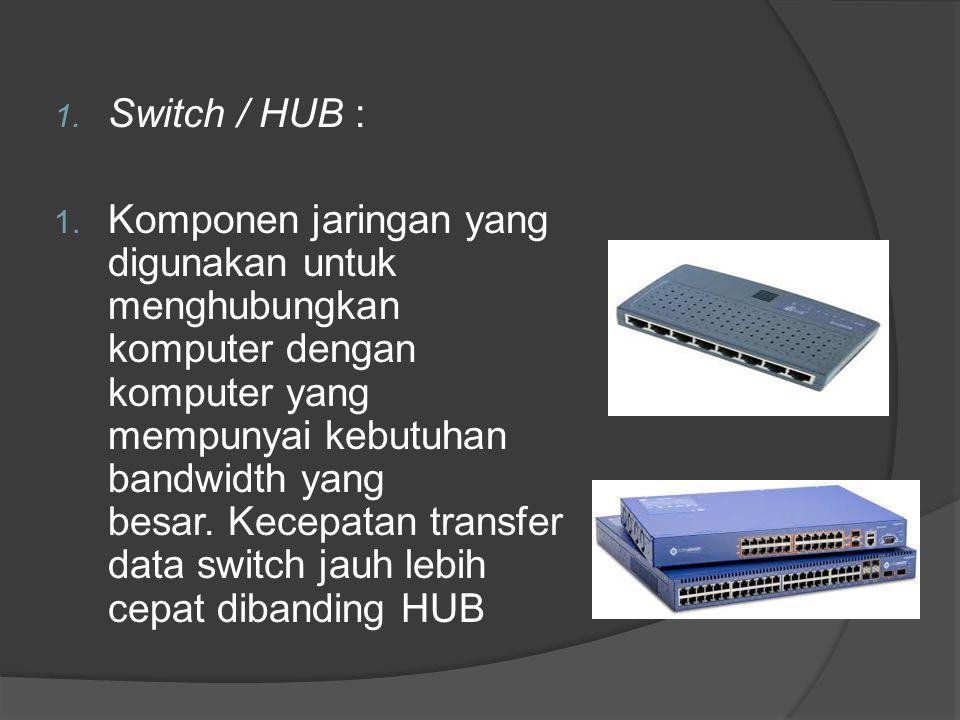 Switch / HUB :