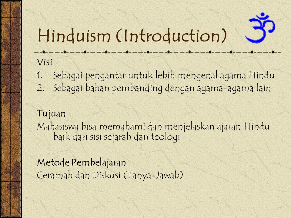 Hinduism (Introduction)