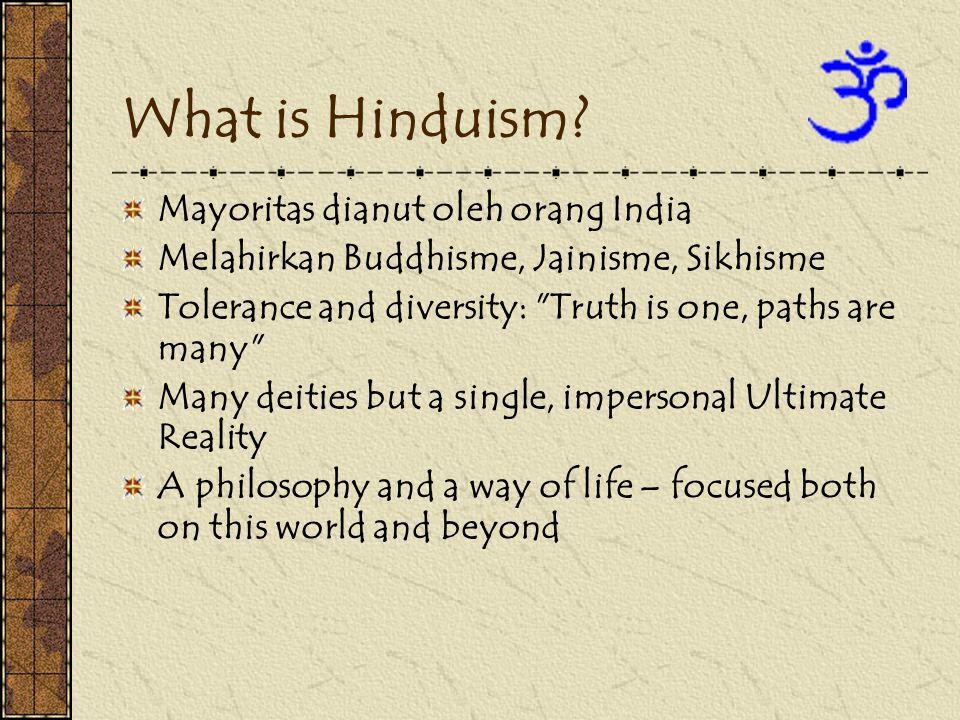What is Hinduism Mayoritas dianut oleh orang India