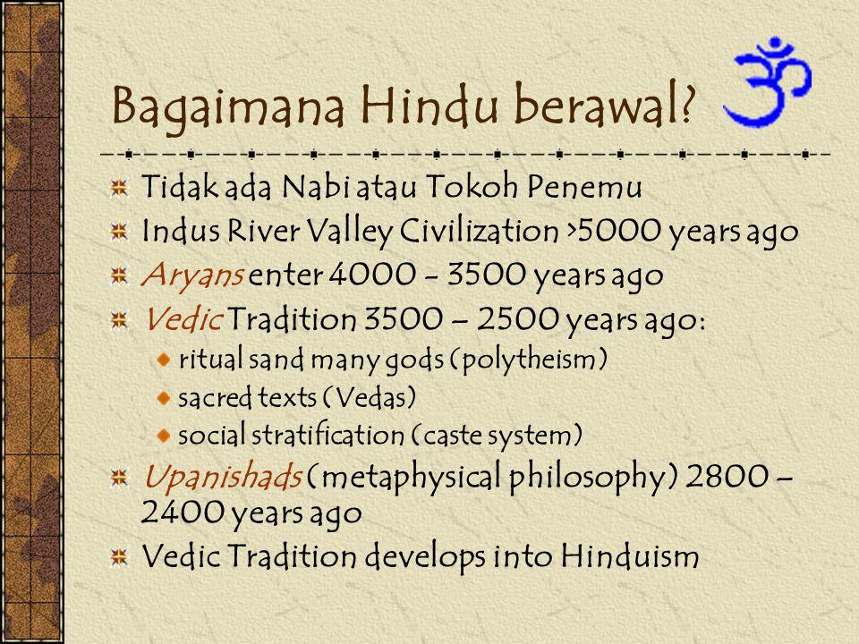 Bagaimana Hindu berawal