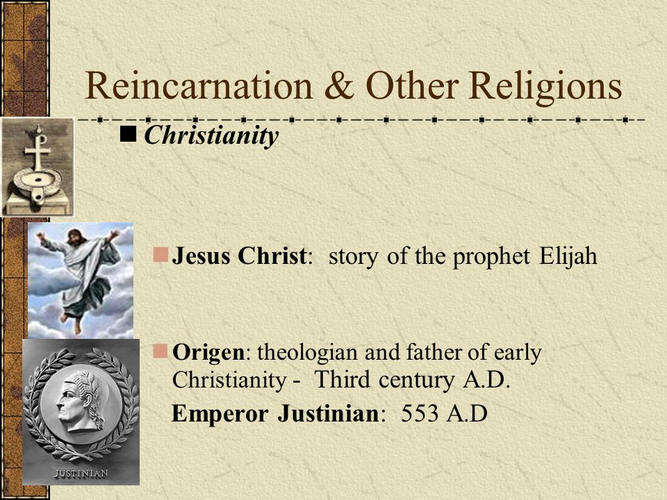 Reincarnation & Other Religions