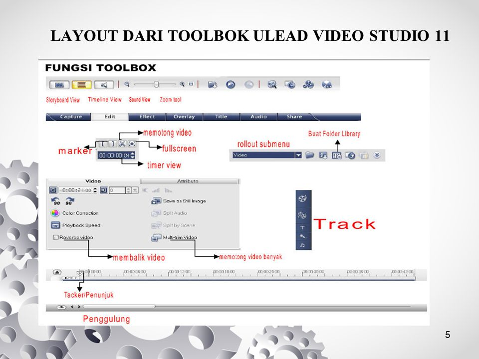 LAYOUT DARI TOOLBOK ULEAD VIDEO STUDIO 11