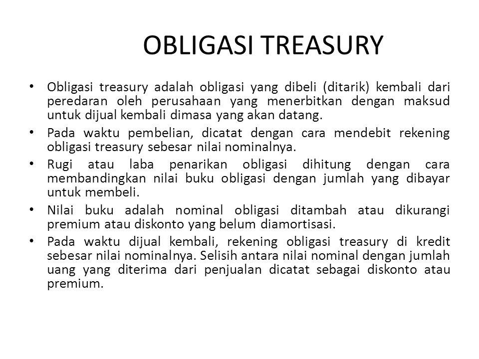 OBLIGASI TREASURY