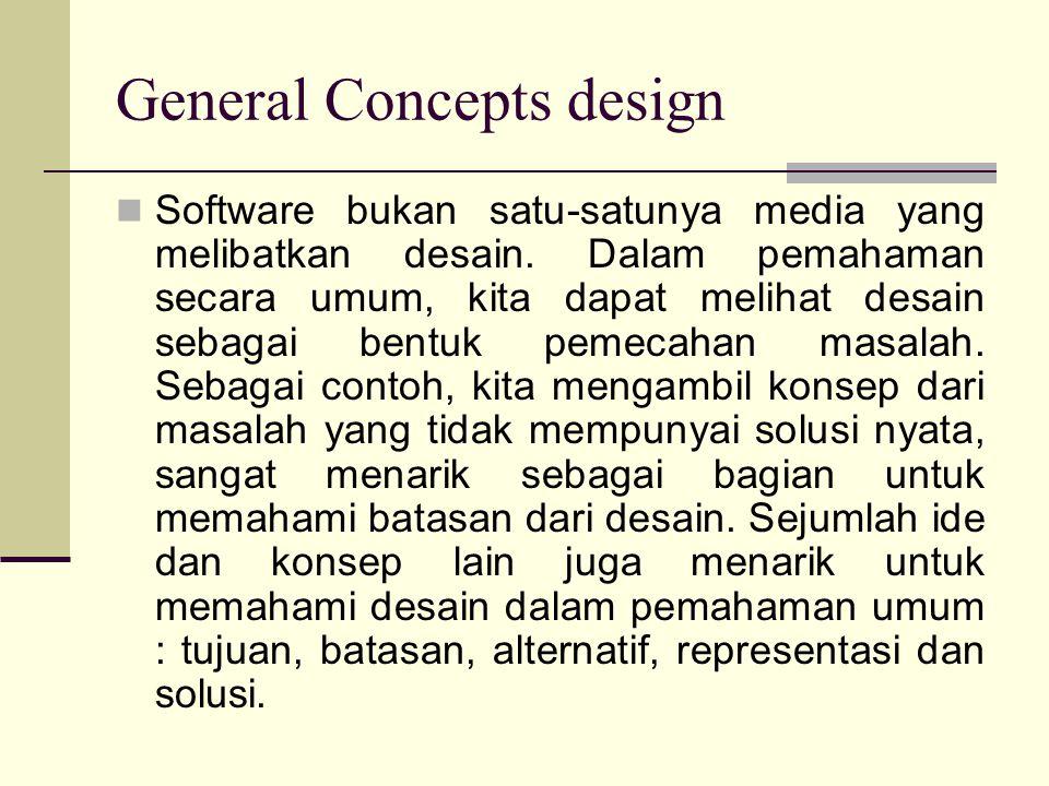 General Concepts design