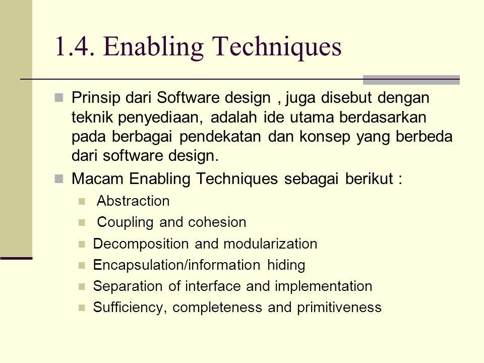 1.4. Enabling Techniques
