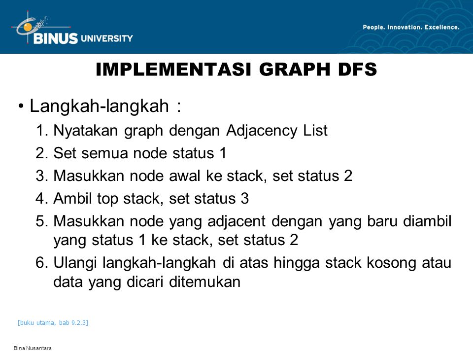 IMPLEMENTASI GRAPH DFS