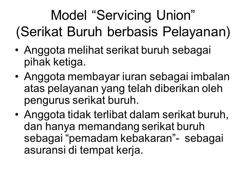 Model Servicing Union (Serikat Buruh berbasis Pelayanan)
