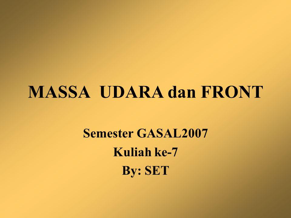 Semester GASAL2007 Kuliah ke-7 By: SET