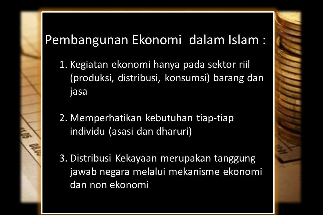 Pembangunan Ekonomi dalam Islam :
