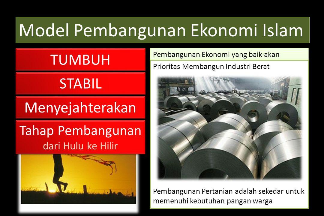 Model Pembangunan Ekonomi Islam