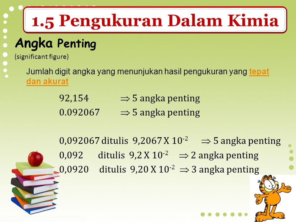 Angka Penting (significant figure)