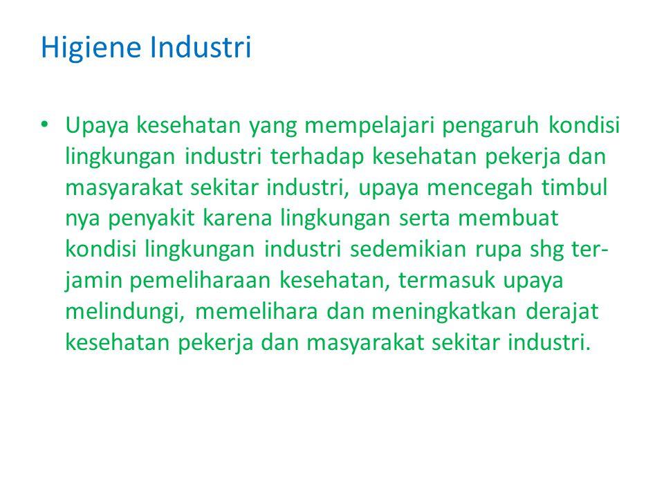Higiene Industri