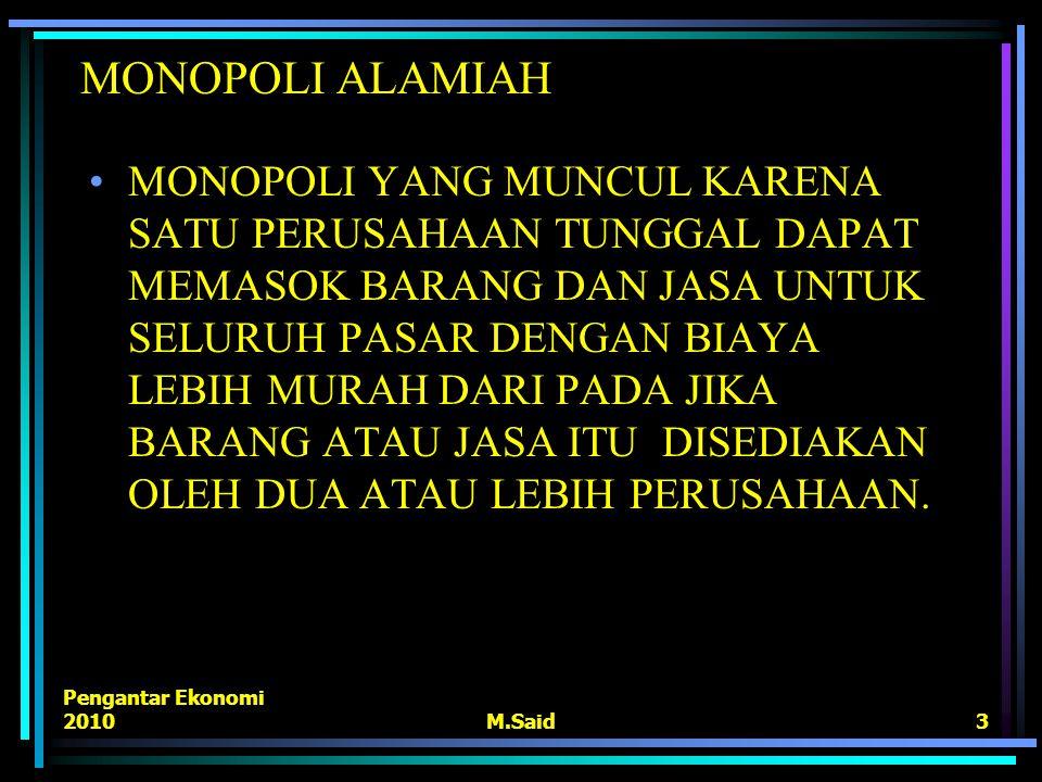 MONOPOLI ALAMIAH