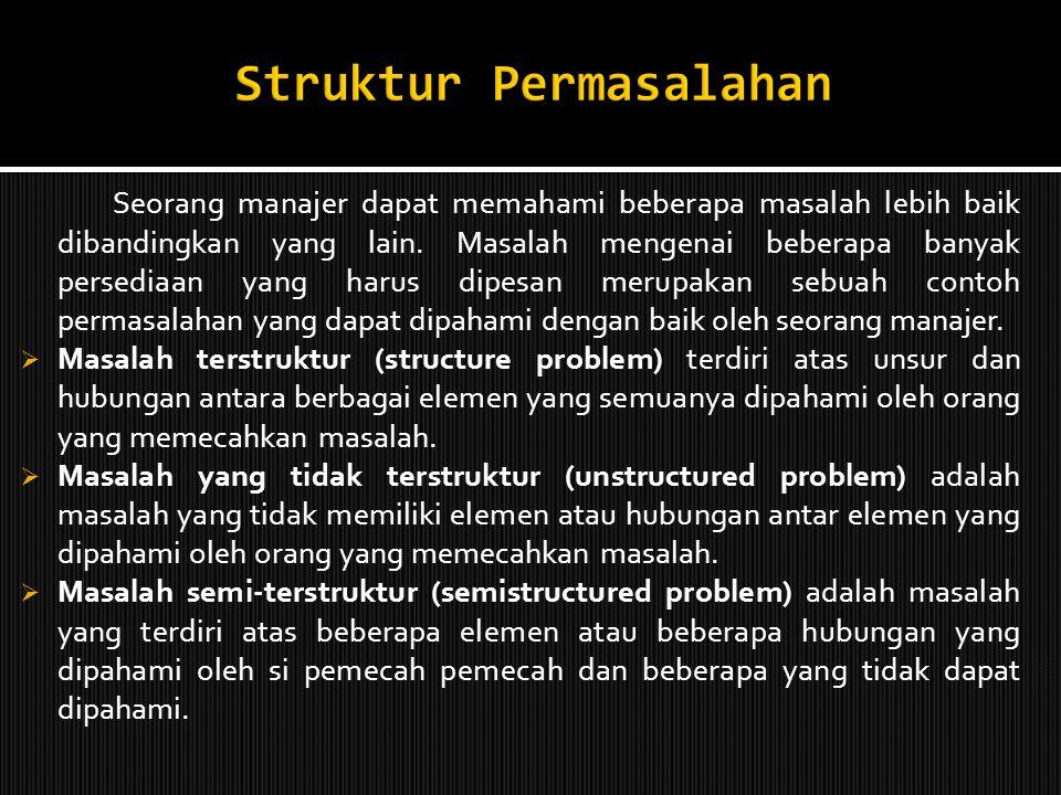 Struktur Permasalahan