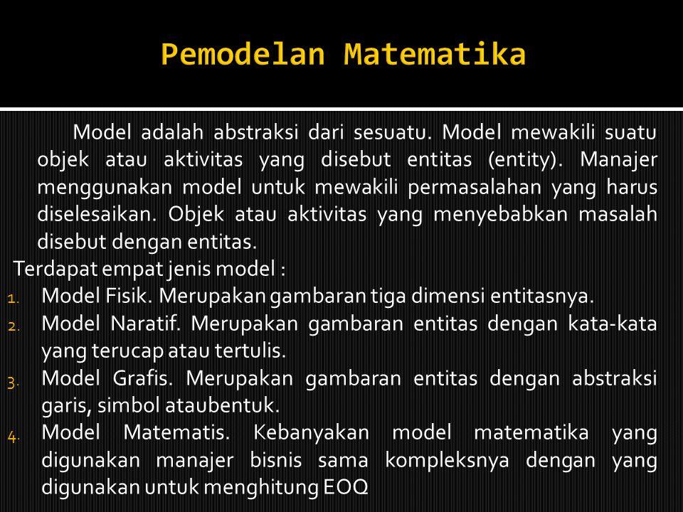 Pemodelan Matematika