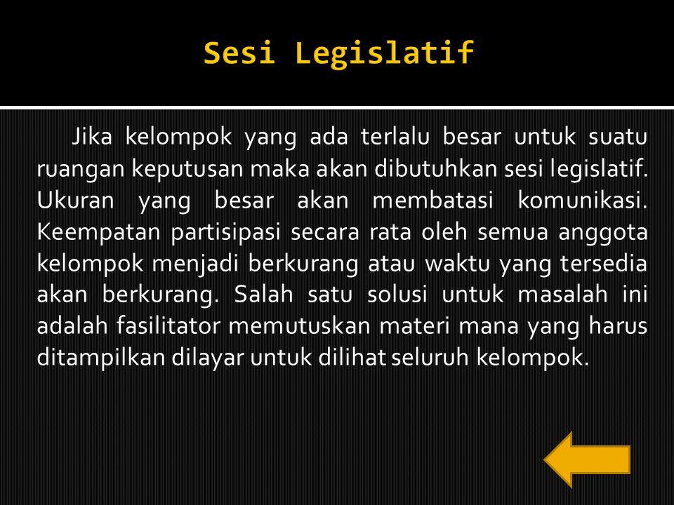 Sesi Legislatif