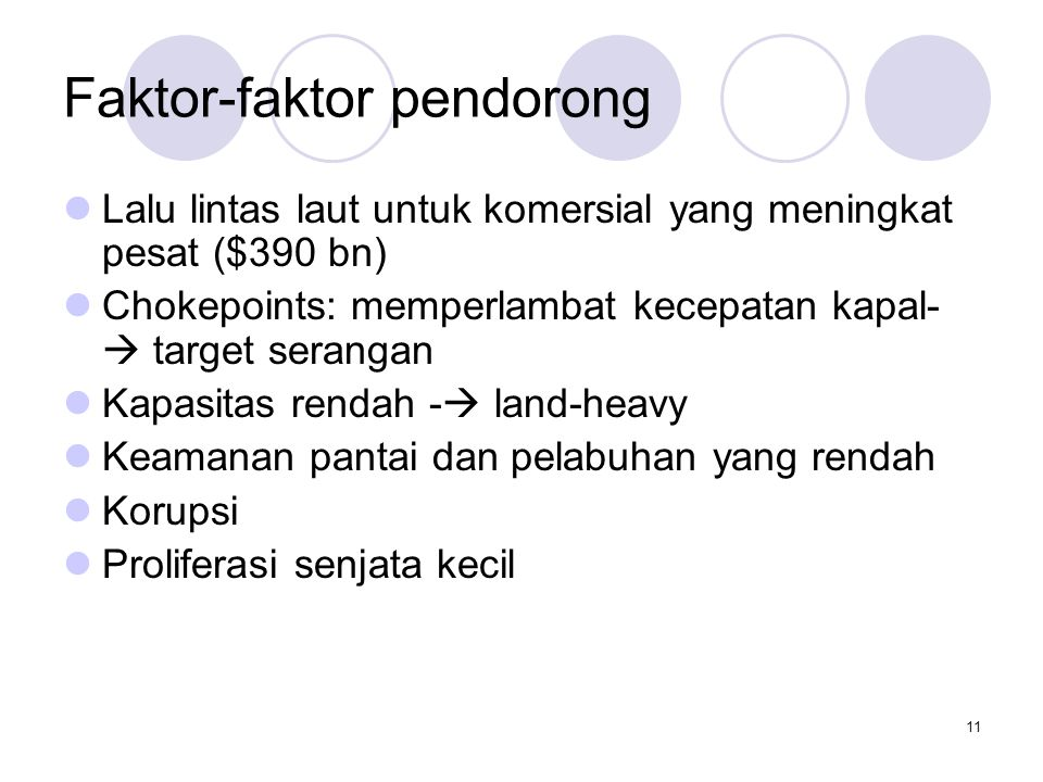 Faktor-faktor pendorong