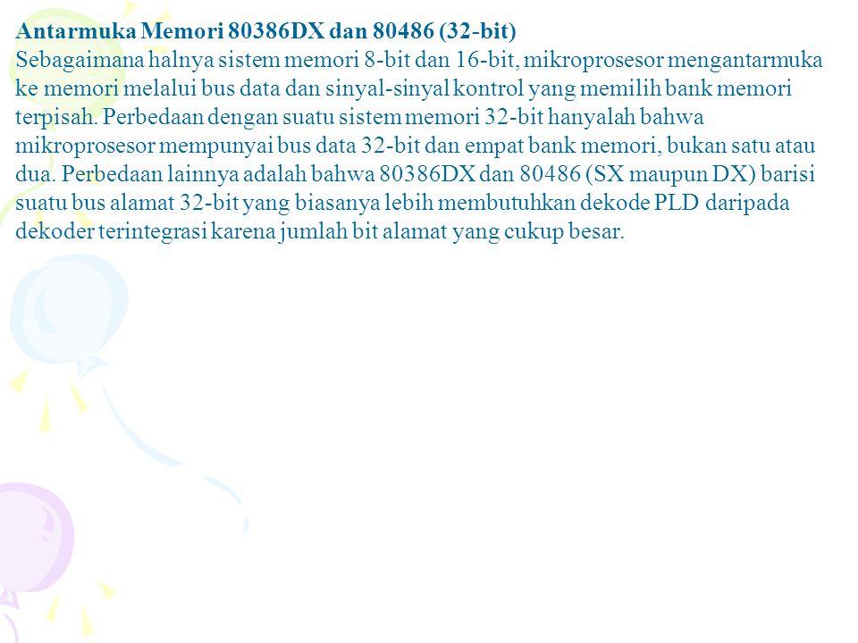 Antarmuka Memori 80386DX dan 80486 (32-bit)