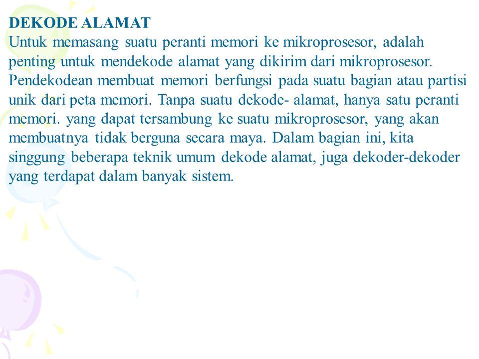 DEKODE ALAMAT